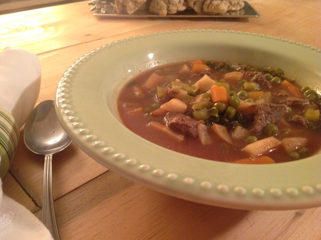 Hearty Venison Vegetable Stew