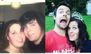 College 2006 and 10 years later in 2016
