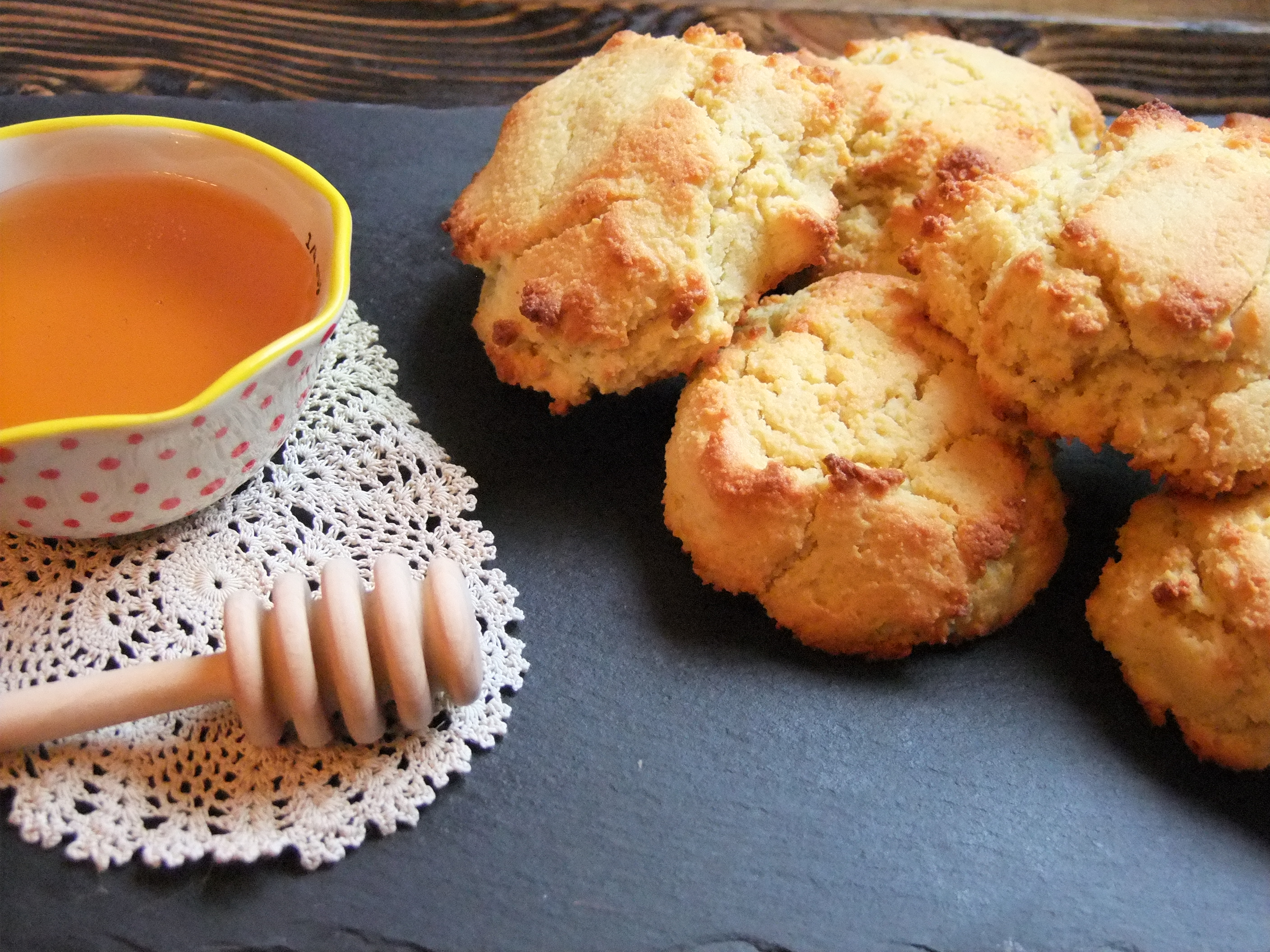 Paleo Honey Biscuits
